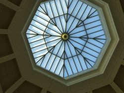 The ceiling in the Dome