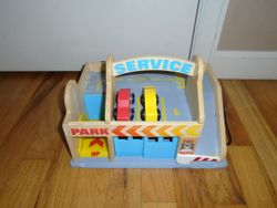 Melissa & Doug Service Station, Parking Garage, Car Wash, Gas Station - $15