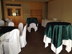 Green table toppers