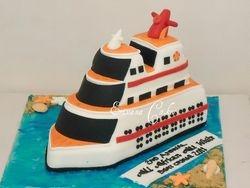 Boat Cruise cake(SP165)
