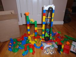 MindWare Marble Run with Elevator - $25