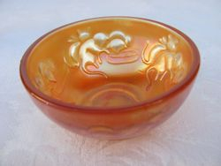 Kittens round cereal bowl, marigold