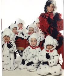Cruella and the Dalmations