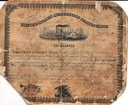 Pilot Certificate 1871
