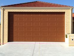 Stanford Cedar 6 Panel Sectional Door