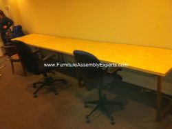 ikea vika amon table installation service in Washington DC