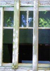 Barricaded window