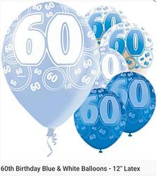 60 blue latex 11inch