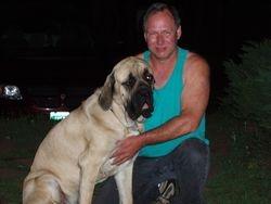 Chuckwagon loves Dad