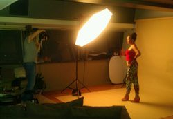 Photo Shoot with Singer/Songwritter Maya Azucena