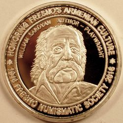 70th Anniversary Silver Medal Obverse