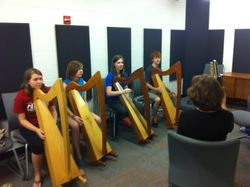 Thursday harp class