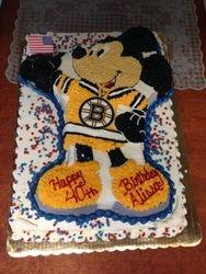 Mickey Bruins Sweater