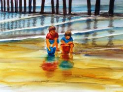 Two Boys at the Pier