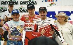 Yvon, Mario et Miguel à Daytona