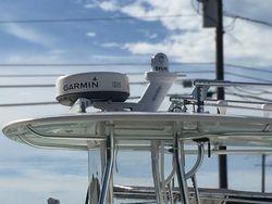 Garmin Radar, Flir Thermal Camera & Rigid LED Bar on a 35 ft Contender