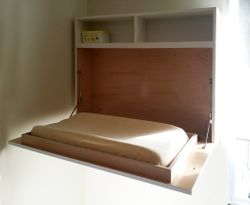 Changing Table - open