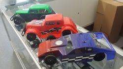 RTR RJ Speed cars