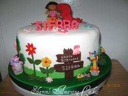 Cake 18A1 -Dora Cake 2