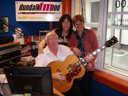 Jimmy, Bernie Heaney & Marita.