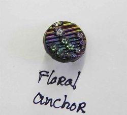 Floral Anchor button