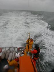 Arklow RNLI exercise with Irish Air Corp