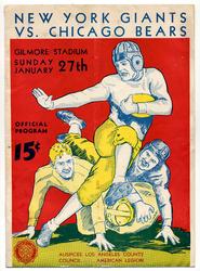 1935 New York Giants vs. Chicago Bears