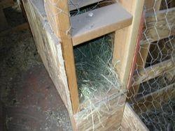 A nesting box