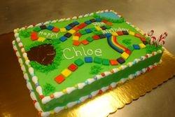 30 serving candy land cake $85