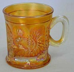Dandelion mug, marigold