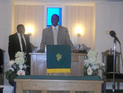 D/E Robert Lynch & Pastor Byron Brown