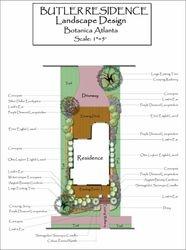Residential Landscape Design - Atlanta, Georgia