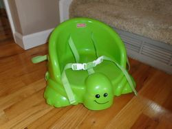 Fisher Price Table Time Turtle Booster - $20