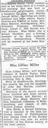 Miller, Lillian 1939