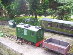 Boxcab and railcar