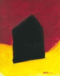 Black Arthouse, Acrylic, 11x14, Original Available