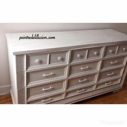 Bureau Pure White Chalk Paint Annie Sloan