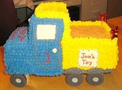 Joe's Dump Truck Cake