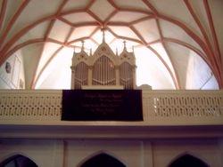 Het orgel en de orgelgallerij 2007
