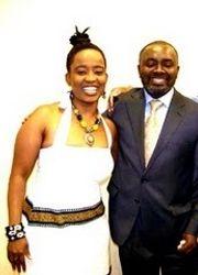Anna Mwalagho and Dr. Gnaka