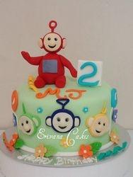 Tele Tubbies cake (B192)