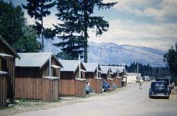 Queenstown Motor Camp 1955