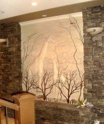 Sculpted Mural