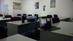 Classroom early morning