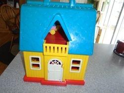 Vintage 1980's Illco Jim Henson Sesame Street Playhouse - $15