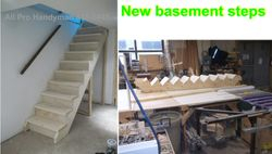New stairs rebuilt.