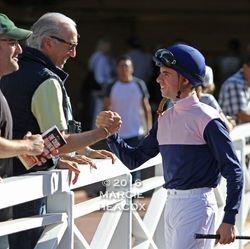 Florent Geroux Meets Gary Barber