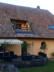 Terrasse du gite