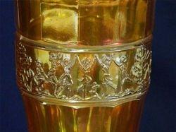 "Mulberry Bush 7"" ftd vase - marigold"
