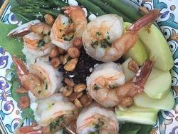 Shrimp Salad with Black Rice